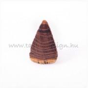 Rusztikus fa gyűrű No12